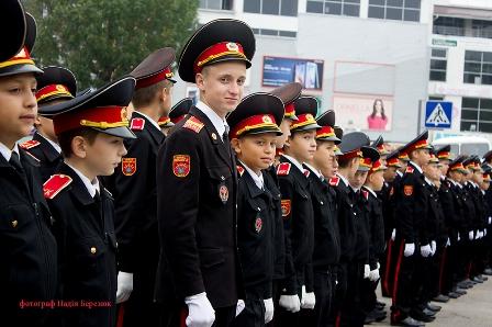Новини гімназії:Урочиста обіцянка кадетів